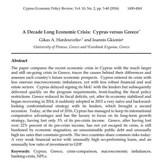 review of cyprus economy The skyline in cyprus is changing rapidly with rich russians moving in to claim a little slice of the eu published: 17 feb 2018  welcome to limassolgrad: the city getting rich on russian money.