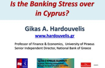 WHEN WILL THE BANKING STRESS BE OVER IN CYPRUS?